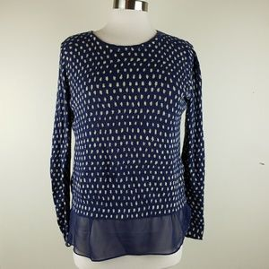 Lucky brand slit back sweater size SMALL